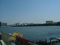 川幅は広くなり、対岸に兵庫 ...