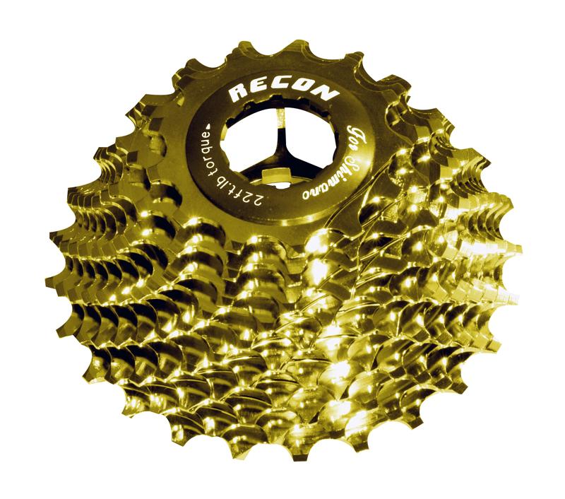 【自転車】 ワンピースアロイレーシング レーコン シマノ (11速ボディ用) 【ロードレーサーパーツ】 11段