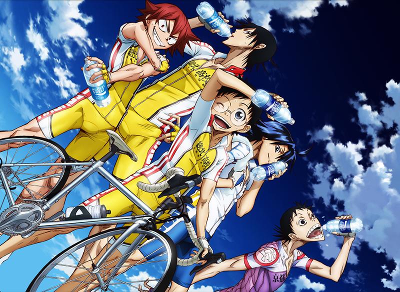 Tvアニメ 弱虫ペダル Grande Road がポカリスエットとコラボレーション決定 サイクルスポーツのニュース サイクルスポーツ Jp
