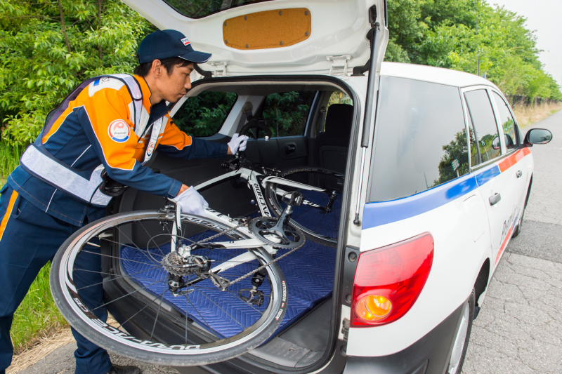 自転車の au 自転車 ロードサービス : わかるau損保のロードサービス ...