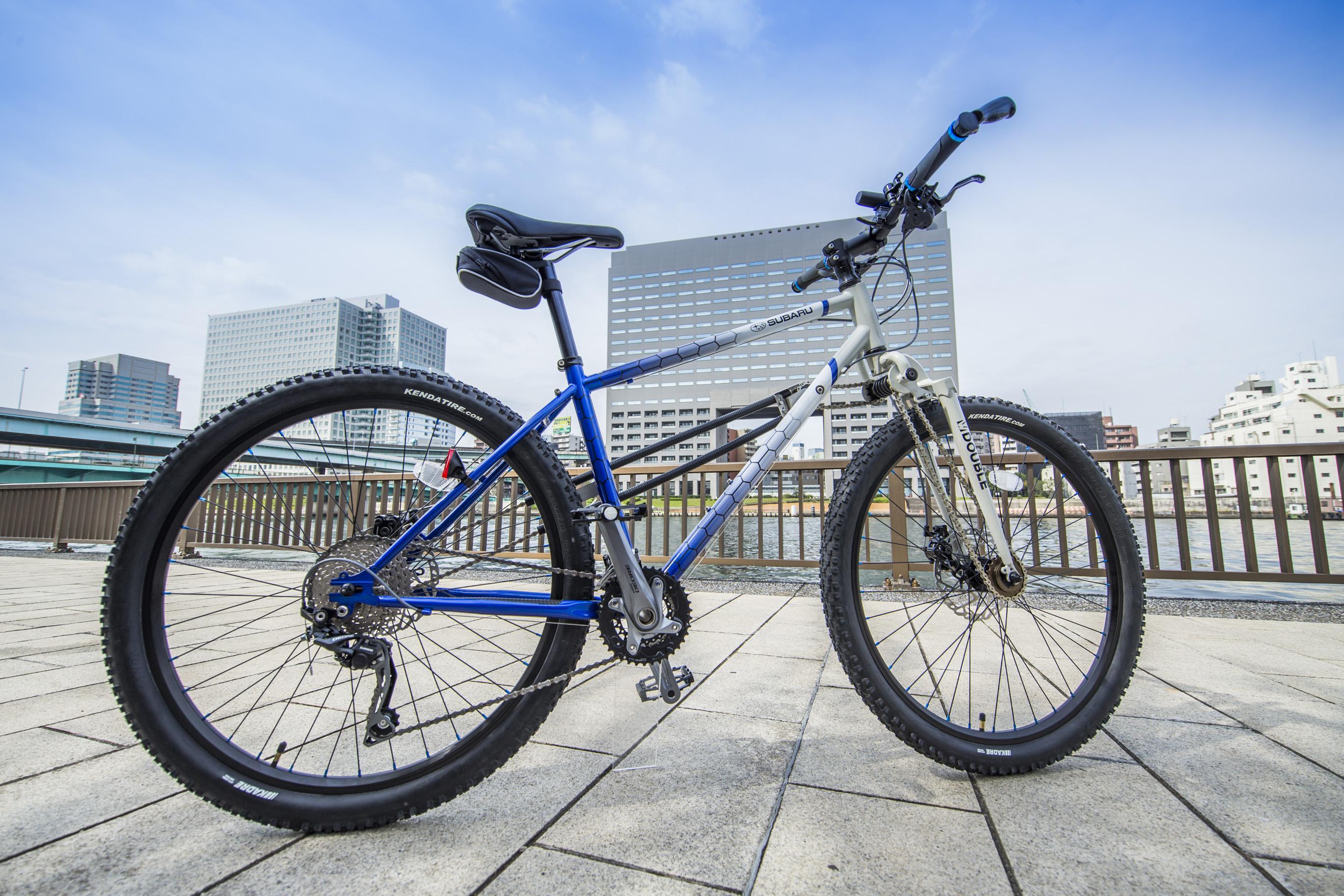 スバルが両輪駆動自転車メーカー「DOUBLE」とコラボ!オリジナルAWD自転車を発売 News