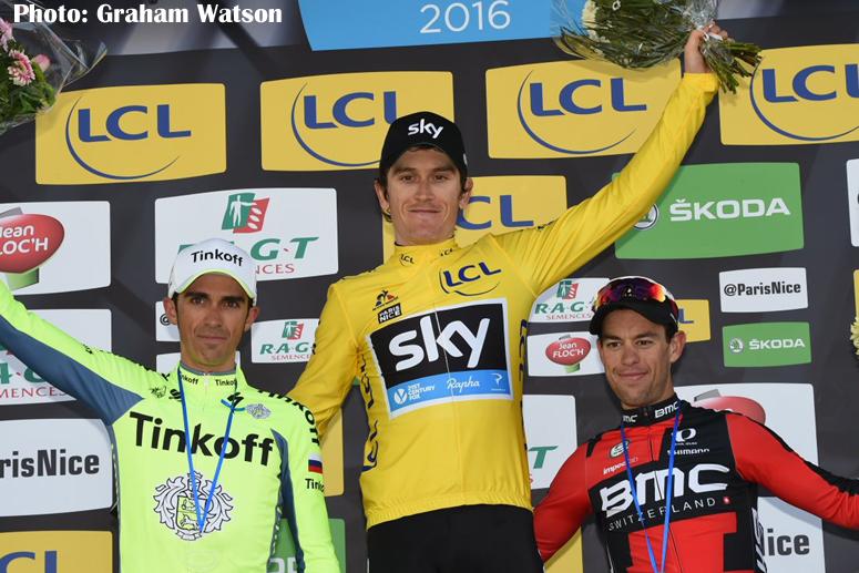 UCIワールドツアーのパリ〜ニースで英国のトーマスが総合優勝