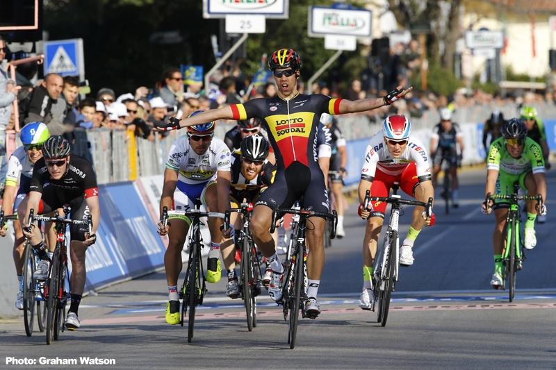 速報】ティレーノ~アドリアーティコ第2ステージはベルギー ...