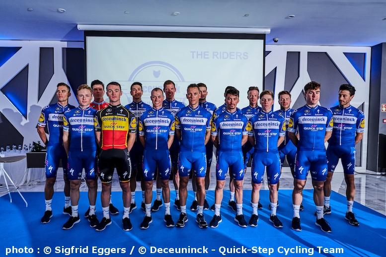 UCI WorldTeam 2019】ドゥクーニンク・クイックステップがチーム ...