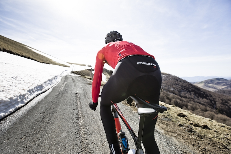in Red Made by EtxeOndo 14292 Goxo Arm Warmers