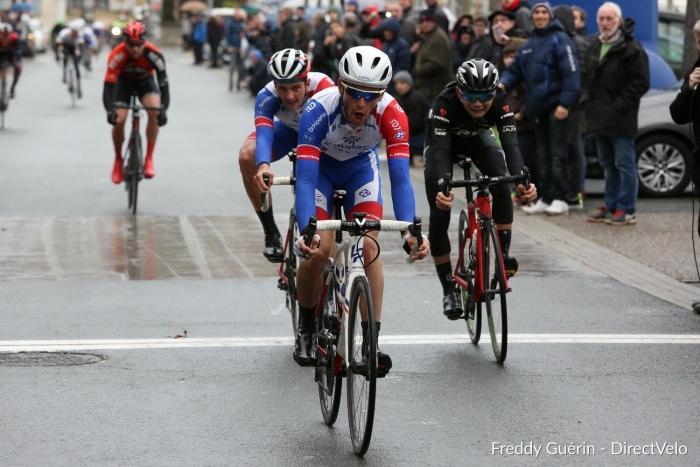 フランスのトップアマレース「トロフェ・ド・レソール2019」で2位に入った石上優大