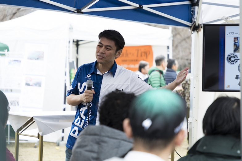 速くなるトレーニング法「パワートレーニング」の日本第一人者・中田尚志さん