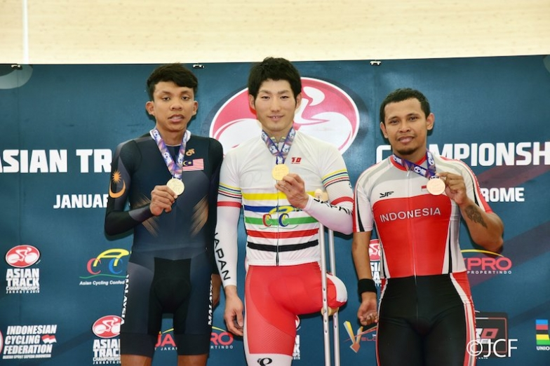 パラサイクリング男子個人パーシュートC1-3は川本翔大が優勝
