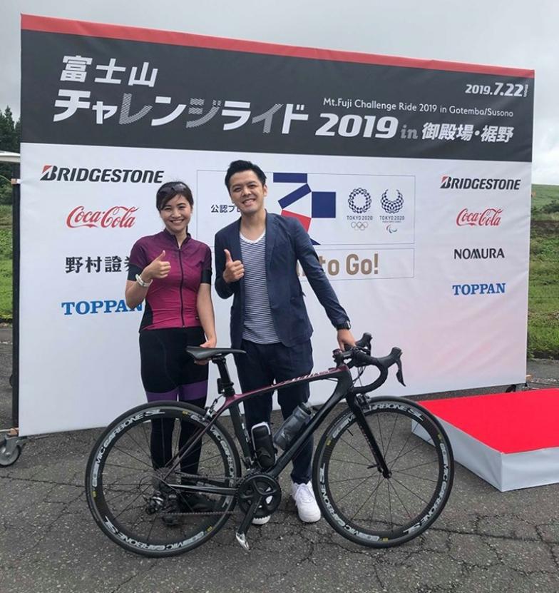 SBS静岡放送の山田門努さんと。門努さん、初対面と思えぬ気さくさでトークも絡みやすかったです!
