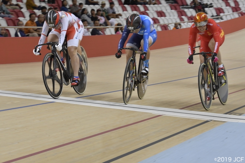 小林優香はアジア選手権女子ケイリンで15年ぶりに金メダルを獲得した