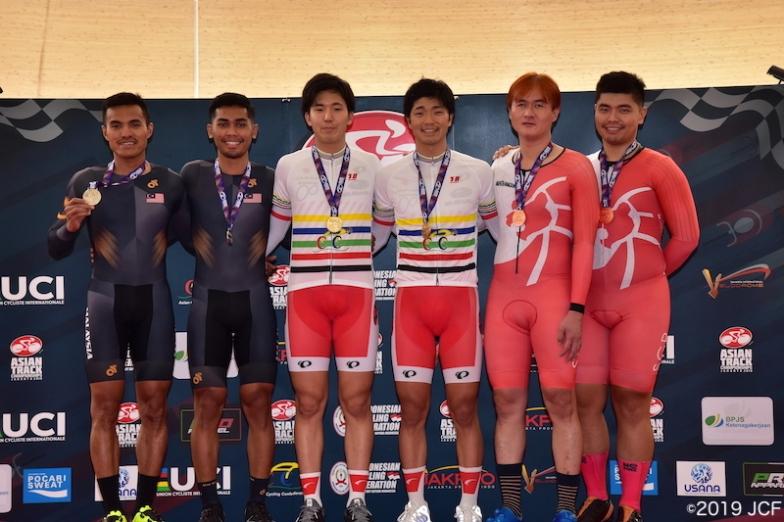 パラサイクリング B男子個人パーシュートで木村・倉林ペアが優勝