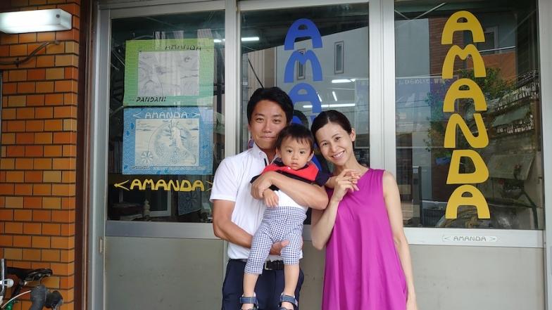 細田さんご夫婦と参加者の中で最年少のお子さん。将来が楽しみだ!