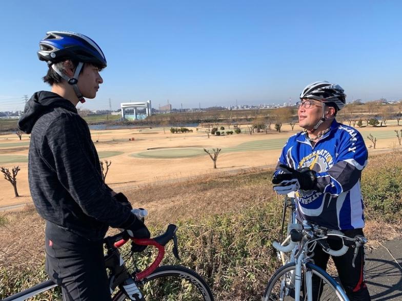 主演の平田雄也さんのロードバイク・ビンディングペダルマスター練習