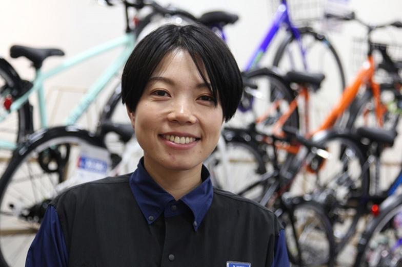 講師:織田 滋子(おりたしげこ)さん サイクルベースあさひ南大沢キッズ館 店長