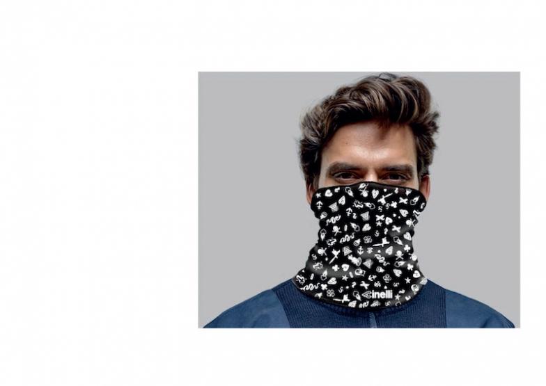 ICONSネックウォーマー(ワンサイズ)価格:2900円(税抜)デザイナー:MIKE GIANT、イタリア製