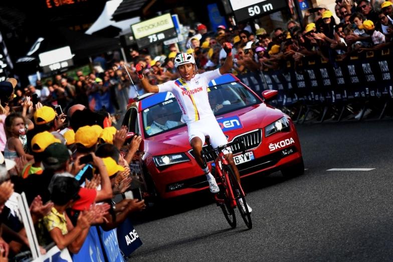 コロンビアのエガン・ベルナルがステージ優勝(photo:Le Tour del'Avenir)