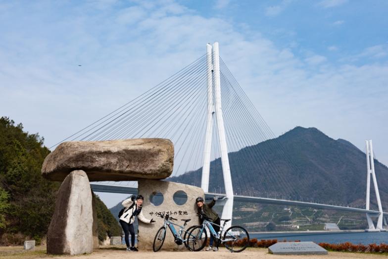 多々羅大橋の迫力を目の当たりにできるサイクリストの聖地