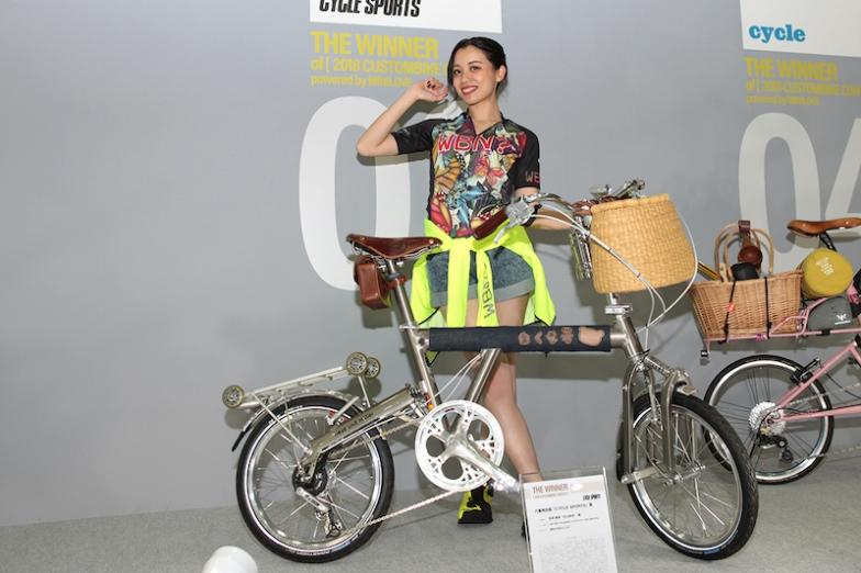 サイクルスポーツ賞は石井 更幸(のぶゆき)さんの「r&m BD-1 CLASSIC(グラファイト)2014年モデル」に決定!