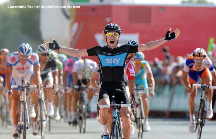 VUELTA速報】第2ステージはサットンが区間優勝 サイクルスポーツの ...