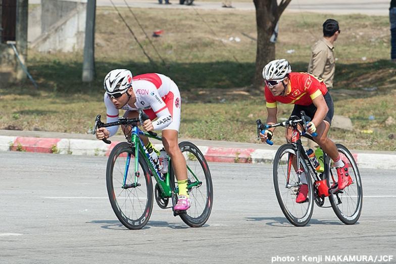 男子U23 ロードレース優勝の山本大喜