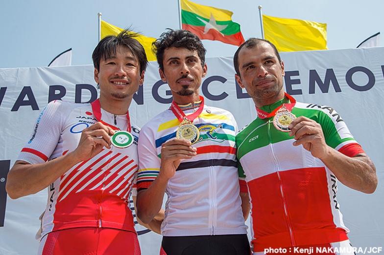 男子エリート・ロードレースで銀メダルを獲得した別府史之