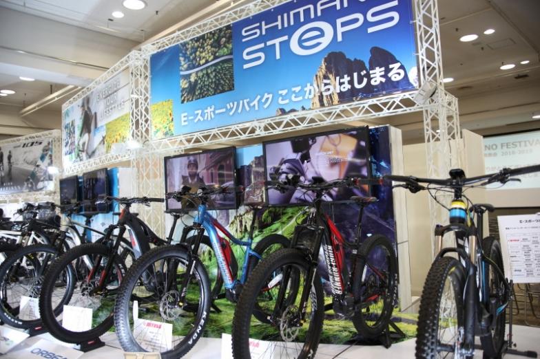 E-スポーツバイクのトレンド、ドライブユニットの仕組やSHIMANO STEPS搭載車の全てを見ることができる。日本に上陸した E-スポーツバイクを一足先に見に行こう。ブース番号:10-29