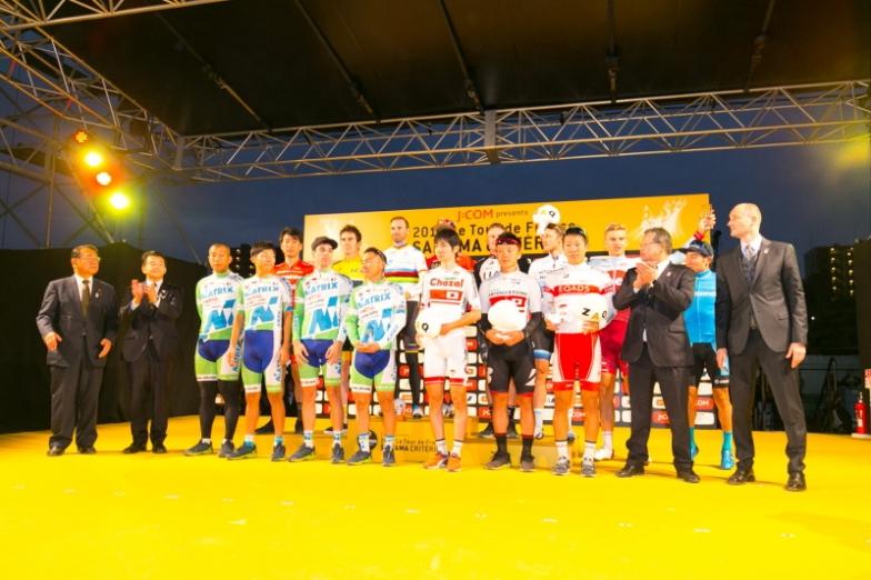 各賞を受賞した選手たち