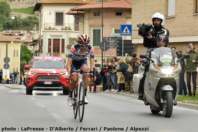 第3ステージで144km逃げ続けたNIPPO・ヴィーニファンティーニ・ファイザネの初山