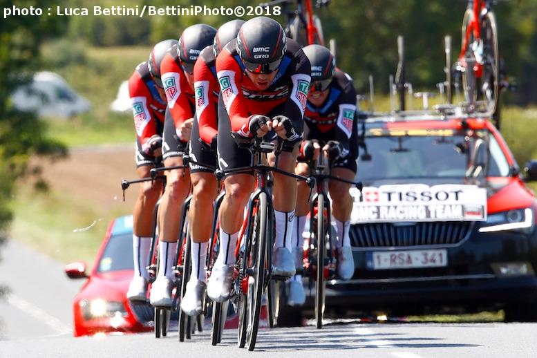 チームタイムトライアルは大方の予想通りBMCレーシングチームが優勝した (©Bettiniphoto)