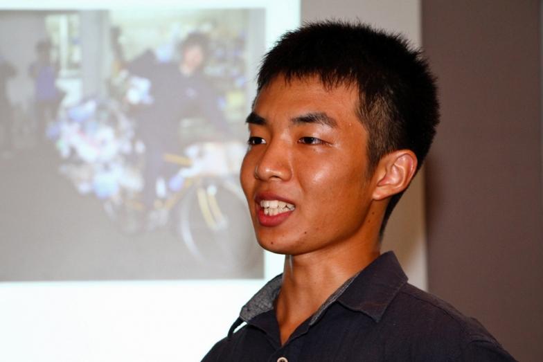 今回選ばれた旅人は愛知在住の現役大学生、溝口哲也さん