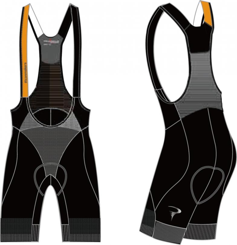 #iconmakers Dual Gripper Bib-Shorts