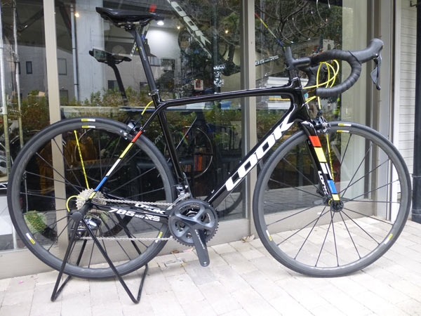 2019 LOOK 785 HUEZ RS MAVIC KSYRIUM PRO EXALITH WHEEL 仕様