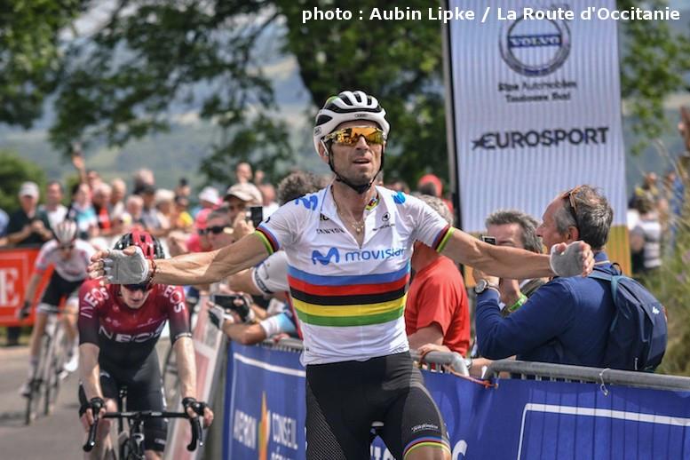 復帰レースの初日に勝った世界チャンピオンのバルベルデ