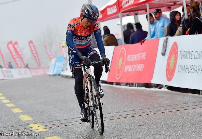 ツアー・オブ・ターキー2019 第5ステージでは、苦手な極寒のコンディションのなか全力を尽くして戦った中根英登