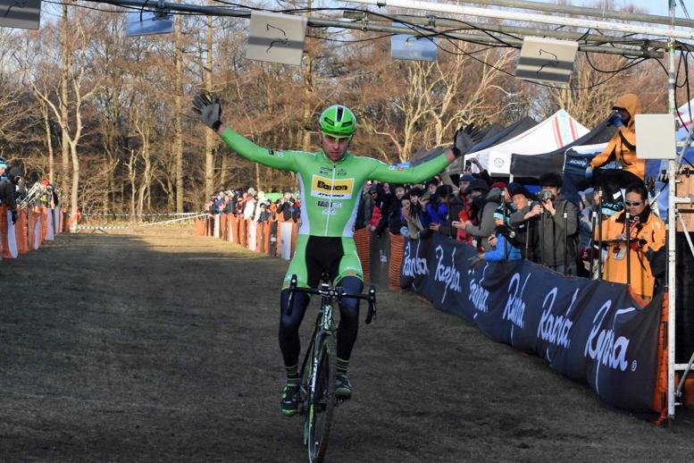 野辺山CX1日目は40歳のヘケレが独走で圧勝した