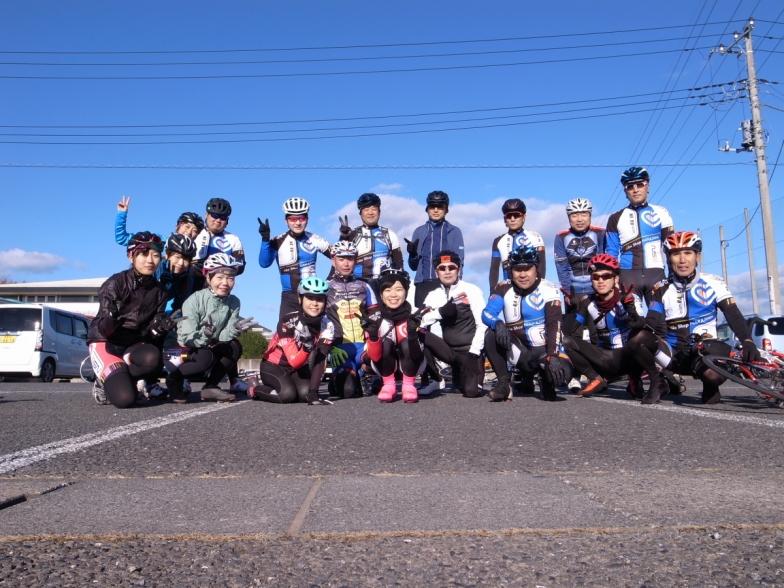 スタート前の集合写真 Photo:Tomoyoshi Tada