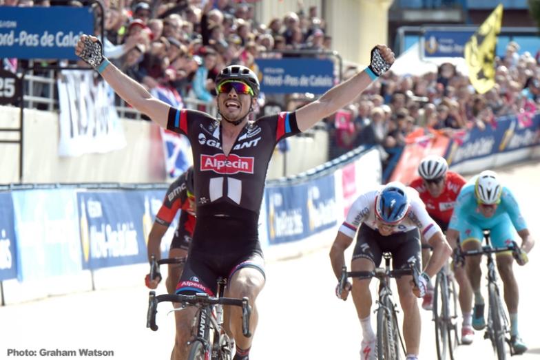 パリ〜ルーベで初優勝したドイツのデゲンコルプ