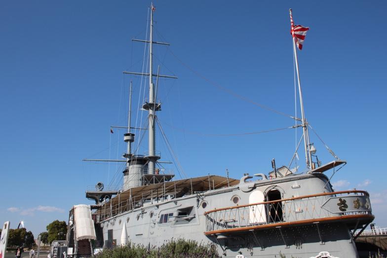 世界三大記念艦「みかさ」。100年以上前は実際に航行していた