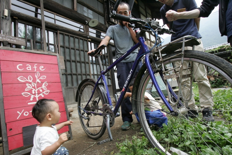 海外ツーリング時に使用した自転車は現在、みほさんが所有者という photo:Kazuyuki YAMAGUCHI