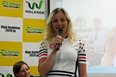 アナ・コヴリック「ヨーロッパでは女子選手がたくさんのレースに出る機会がある。日本には沢山の強い選手がいるので、同じような機会があった方が良い」