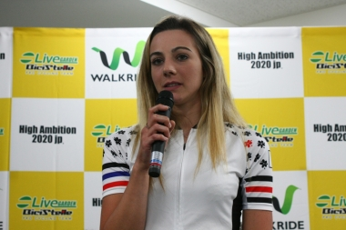 アリアンナ・フィダンツァ「日本人の選手と一緒に国際レースで活躍していきたい」