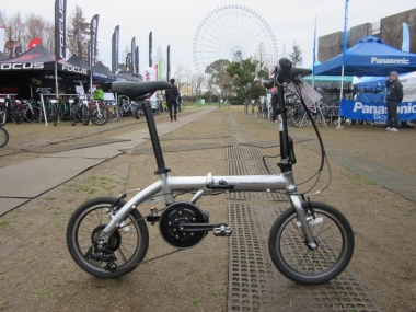 トランスモバイリー・ウルトラライトEバイク16インチ
