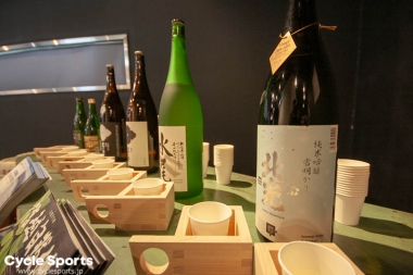 イベント後にはこうした地元の日本酒も楽しめるはず
