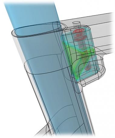 クランプをトップチューブとの接合点よりも下にすることは、走行中に振動を受けた際にシートポストをしならせる距離が増えることとなるため、結果快適性も向上する