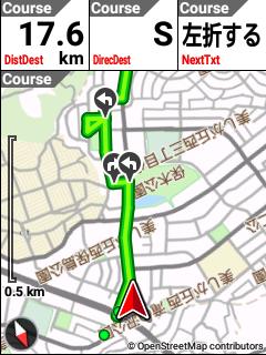 ナビゲーションマップ