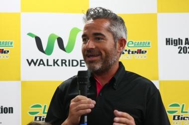 ラカンブラ監督「日本人の選手はポテンシャルを持っていると信じているが、欠けているのは経験。海外のハイレベルのレースに参加させてもらって、レベルを上げていきたい」