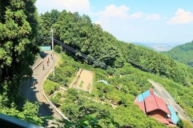 葉原峠を抜け、風布へ向かう Photo:サイクルスポーツ編集部