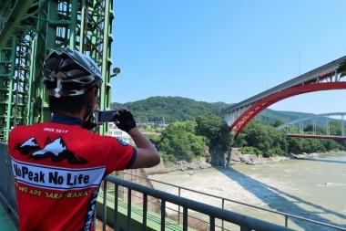 玉淀ダムから荒川を眺める Photo:サイクルスポーツ編集部
