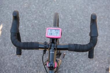 メガXL GPSを横向きにした状態