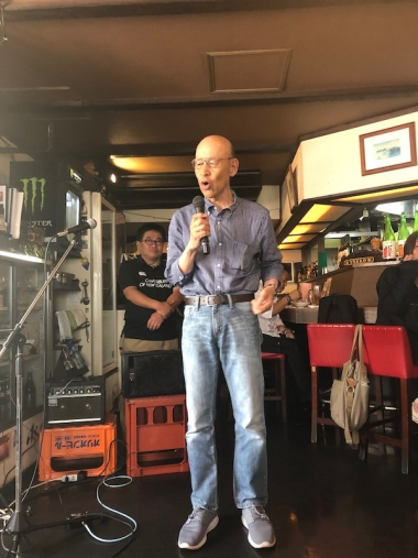 堺 自転車のまちづくり・市民の会 代表・中村さん